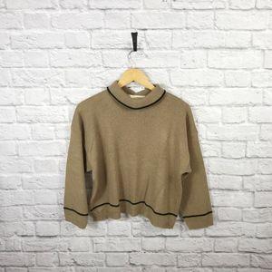 Diane Von Furstenberg Vintage Cowl Neck Sweater